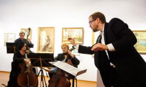 Артисты филармонии - на фабрике авангарда